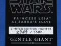 Princesa Leia Slave estatua Gentle Giant  31