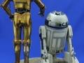 C-3PO R2-D2 Premium Format Sideshow  05