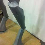 General Grievous piernas montadas 4