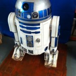 R2-D2 base exposicion Star Wars  7