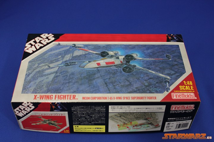 Maqueta X-wing Fine Molds – Caja | STARWARZ.es